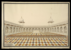 Upper terrace of Akbar's mausoleum, Sikandra